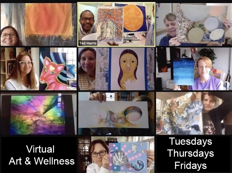 art & wellness programs for adults